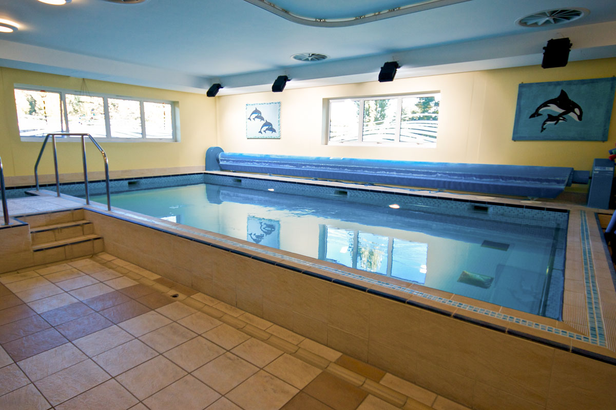 The pool at St. Ebbas Hospital, Epsom, Surrey
