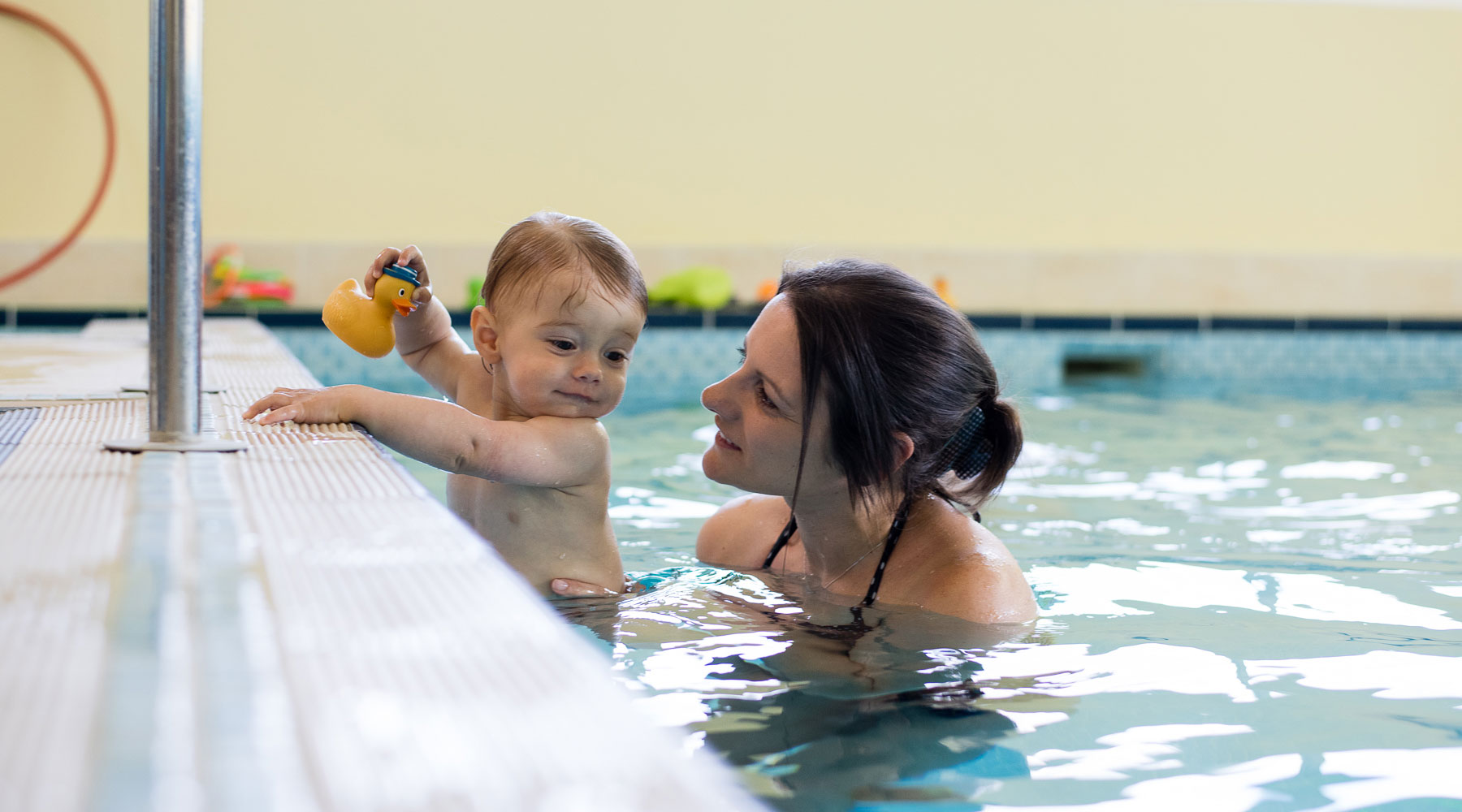 Gift vouchers are available from Baby Swimming
