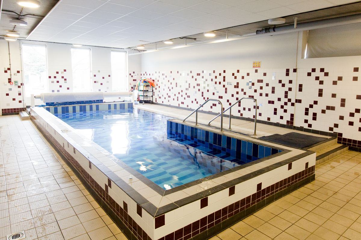 The pool at The Michael Tippett School, Herne-Hill, London