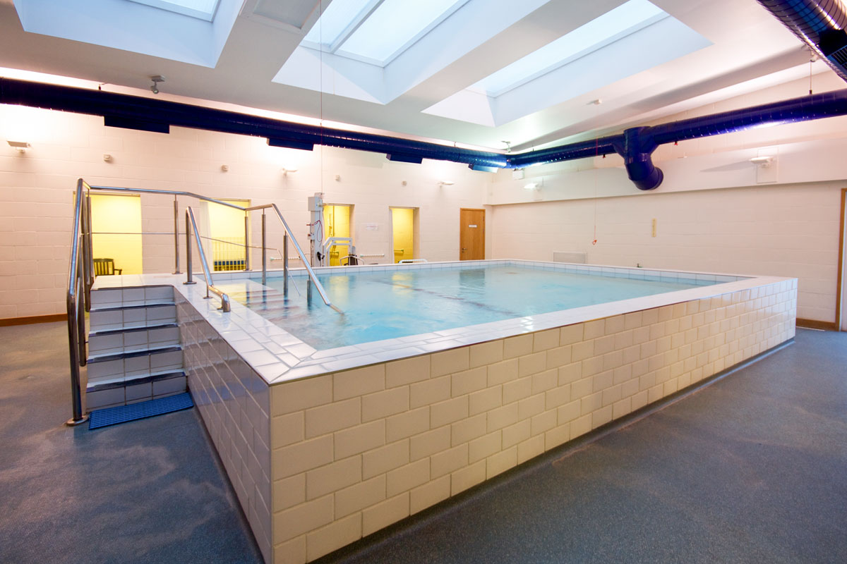 The pool at Royal Berkshire Hospital, Reading, Berkshire